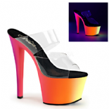 Scarpe Pleaser Rainbow-302UV/C/NMC